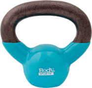 Body Sport 5 lb Cast Iron Kettlebell with Colored Vinyl Coating P/N BDSKB05