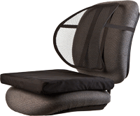 Ergonomic Mesh Back Support and Seat Cushion Combo P/N KMB102
