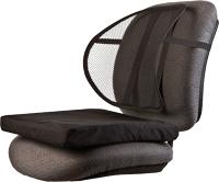 Ergonomic Mesh Back Support and Seat Cushion Combo P/N KMB102