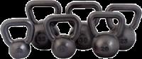 Black Cast Iron Kettle Bells P/N USA111